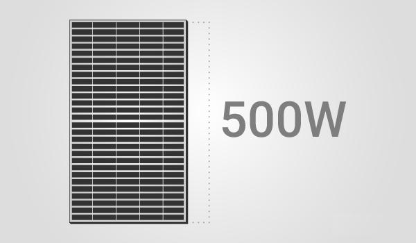 500 watt solar panels