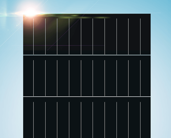 500 watt trina solar panels front side