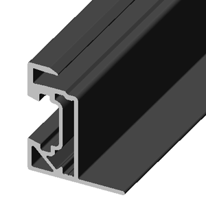 PV module frame for new zep compatible solar panels