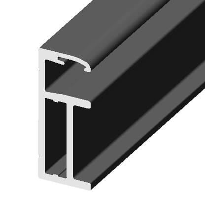 aluminum frame for double 2.5mm bifacial solar panels