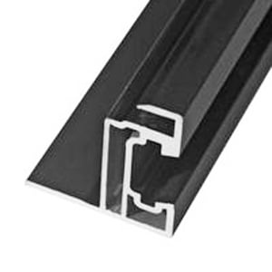 Aluminum profile for solar panel (TESLA solar roof)