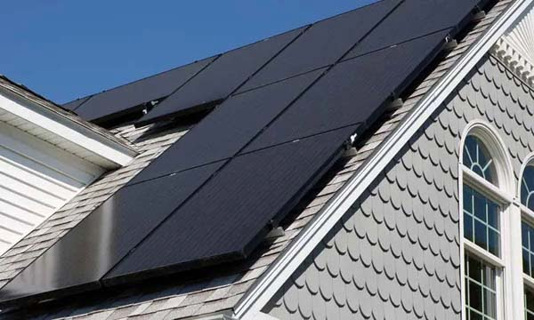 can solar panels be different colors black color