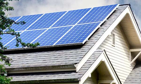 can solar panels be different colors blue color
