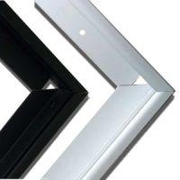 double glass solar frame
